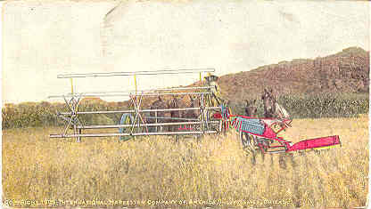 Primary image for International Harvesting Machines 1909 Minature Post Card