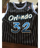 Shaquille O'Neal Throwback Black Orlando Magic Jersey (Mesh) - $49.99