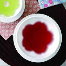 SAKURA Dish Plate : 2 size - Japanese Hasami White Porcelain for Diiner Teatime - $16.82+