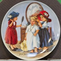 """1986 Knowles China Collector Plate, """"High Society"""" By Jeanne Down - $3.95"""