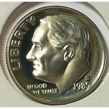 1985-S DCAM Proof Roosevelt Dime #0719 - $2.39