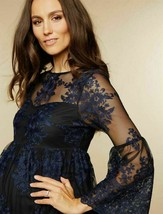 MOTHERHOOD MATERNITY LACE OVERLAY DRESS SIZE LARGE  NWT  - $35.63
