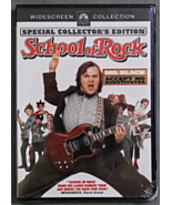 School of Rock Special Collectors Edition DVD Wide Screen New & Sealed - $3.99