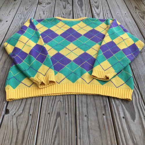 Scotland Yard Oxford Bag XL Sweater Mens Yellow