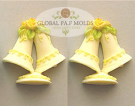 Wedding Bells mold 787 - $15.00