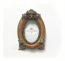 silicone mold/vintage frame mold 77777 - $29.00