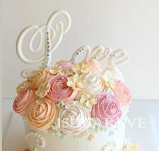 silicone mold/wedding cake topper mold 321 - $29.00