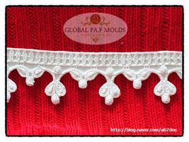 Elegant Lace Mold 7 - $27.00