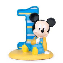 silicone mold/Mickey Mouse 1st Birthday - ₨2,056.92 INR