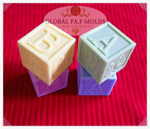 Primary image for silicone mold/ baby block mold 046