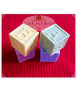silicone mold/ baby block mold 046 - $29.00