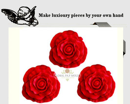 Rose mold 545 - $18.00
