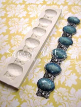 Antique Jewelled Chain Mold - $19.00