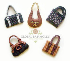 Fashion bags purses  molds - $15.00