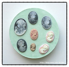 cameo set  mold 1 - $17.00