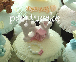 baby cupcake topper mold - $20.00