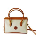 Authentic Dooney & Bourke Bone and British Tan ... - $165.00