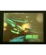 Star Trek hologram trading card H1, Impel 1991 - 25th anniversary, FREEBIE - $0.00