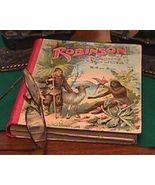 Robinson Der Jungere 1904 German Language Hardbound Book - $45.00