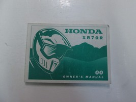 2000 Honda XR70R Owners Operators Owner Manual New - $59.39