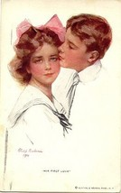 His First Love artist Phillip Boileau Vintage 1911 Post Card - $15.00