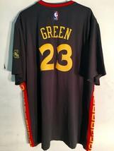 Adidas Swingman 2015-16 NBA Jersey Golden State Warriors Green Grey Sh Sl 4X - $49.49