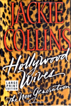 Hollywood Wives By Jackie Collins (Large Print) - $5.95