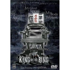 WWF: King of the Ring 2001 Pre-viewed DVD WWE Austin Benoit oop out of print
