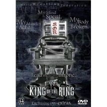 WWF: King of the Ring 2001 Pre-viewed DVD WWE Austin Benoit oop out of print