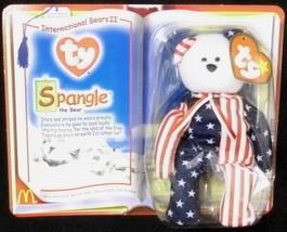McDonalds TY Spangle the Bear Stars Stripes International Bears Collecti... - $9.67