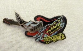 Retired Walt Disney World Rock N Roller Coaster Aerosmith Car Guitar Pin 2328 - $19.57