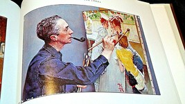 The Best of Norman Rockwell Hard cover Book AA20- CP2172 Vintage image 2