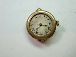 EMPRESS GOLD FILLED ANTIQUE VINTAGE WATCH FOR RESTORATION REPAIR OR TREN... - $120.94