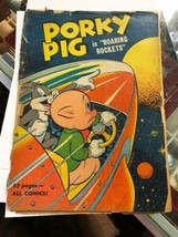 Dell Comic Book—Four Color #322—PORKY Pig In Roaring Rockets, Fair , 1951 - $9.80