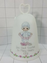 """Precious Moments  Bell """"You Have Touched So Many Hearts 1991""""  Girl & He... - $10.95"""