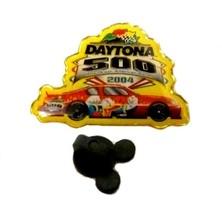 Walt Disney Nascar Racing Daytona 500 Donald Duck Red Car 2004 Collectib... - $19.37