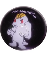 POKEMON MARBLE MACHOP #66 METALLIC COLORED GLAS... - $9.98