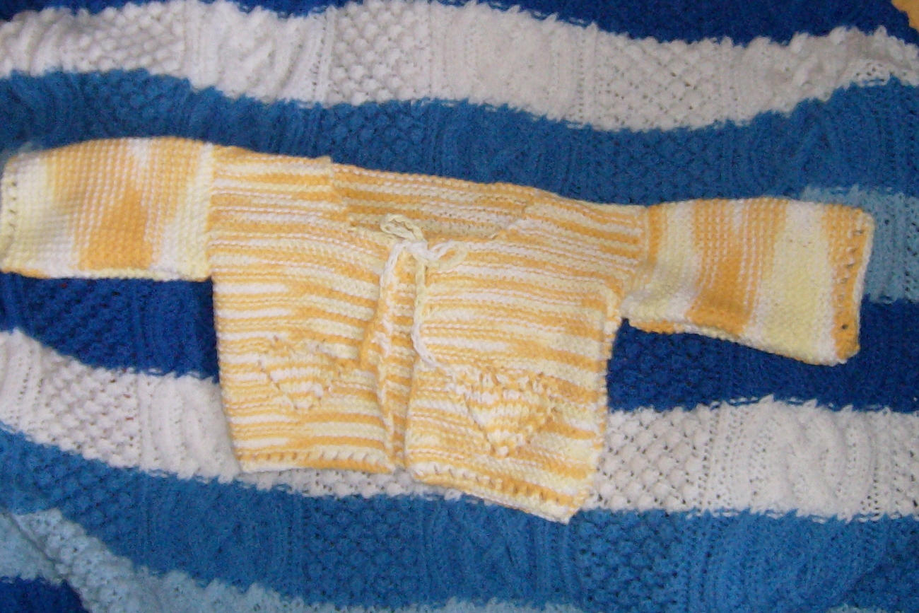 cardigan sweater in 100% cotton for 2 to 3 year old Bonanza