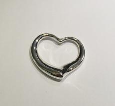 Tiffany & Co. Silver Elsa Peretti Big Open Heart Pendant - $110.00