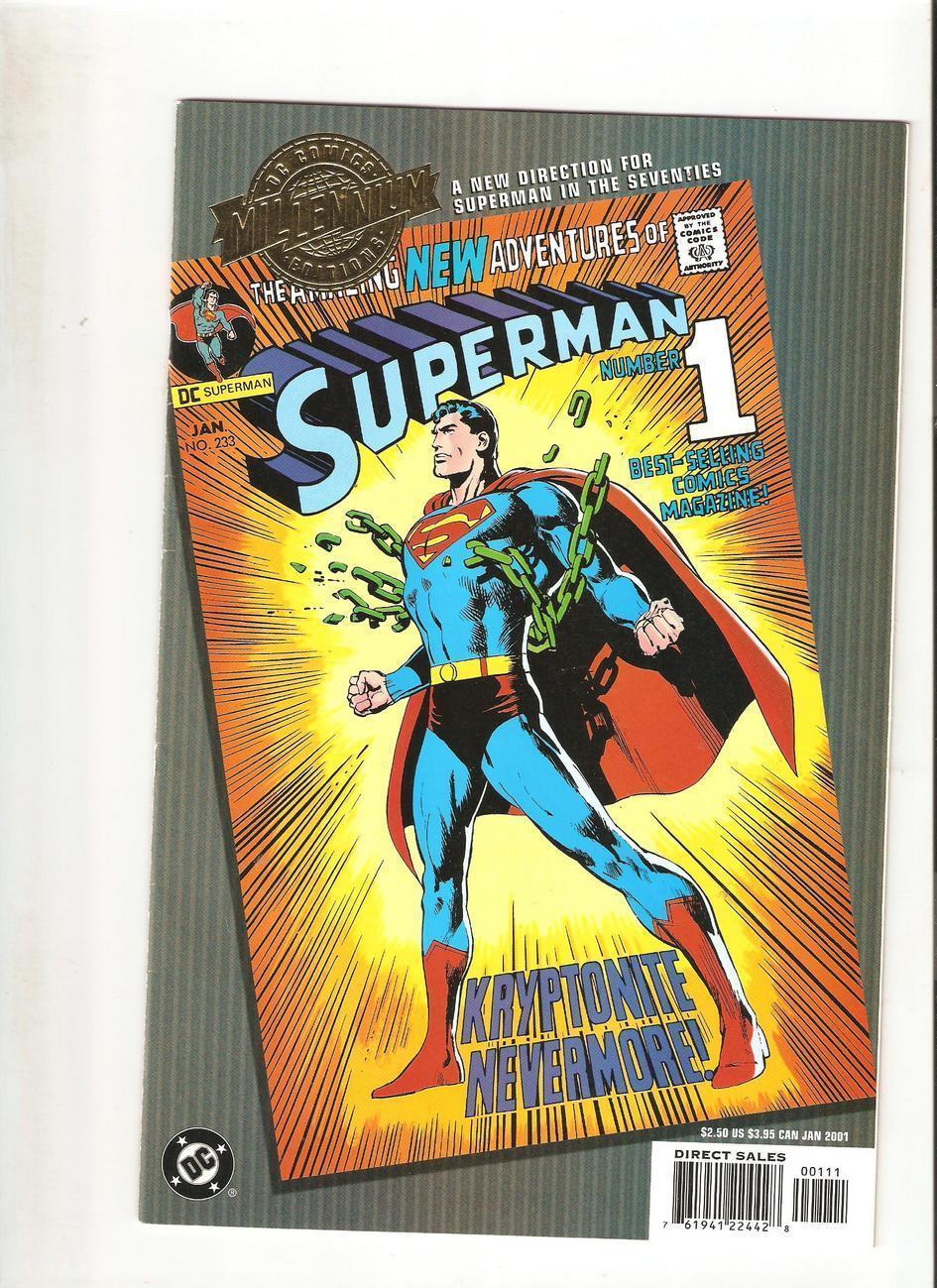 SUPERMAN ADVENTURES #44 NEAR MINT 2000 DC COMICS