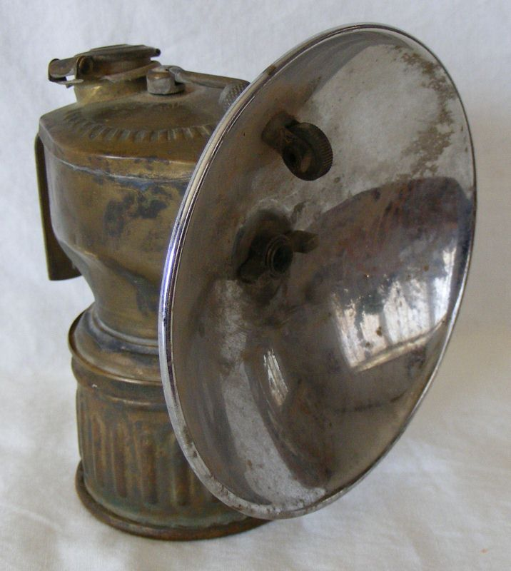 Justrite Streamlined Carbide Lamp As Found Other