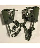 2 Powder Coated FPS DP Dog Proof Coon Traps Trapping Raccoon NEW SALE - $28.30