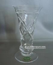 "Vintage Stuart Crystal Hand Cut Small Vase - 5"" High"