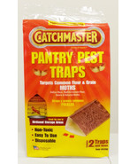 CATCHMASTER FOOD & PANTRY MEAL MOTH TRAPS 2PACK - $4.99