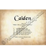 Caiden Hidden Within Your Name Is A Special Sto... - $8.95