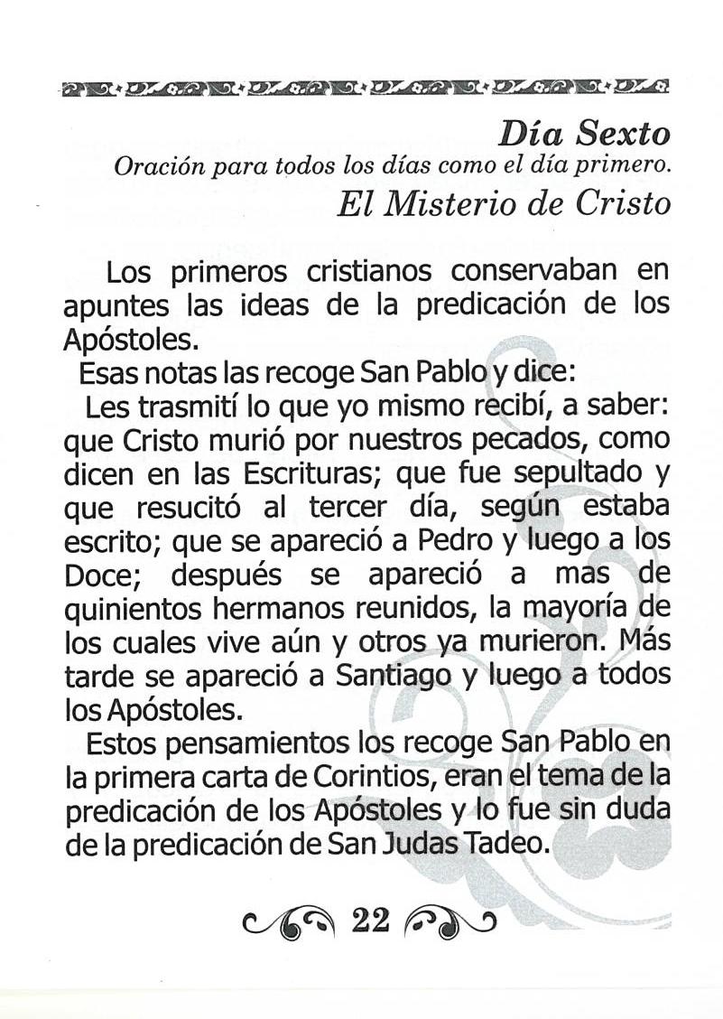 San Judas Tadeo - Novena con Rosario y Oraciones image 3