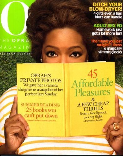 Primary image for O the Oprah Magazine July 2009 Oprah Winfrey on Cover, Oprah's Private Photos...