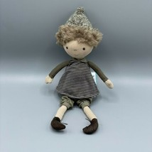 NWT Jellycat London Chestnut Doll Boy Plush Stuffed Toy (Discontinued/Re... - $24.74