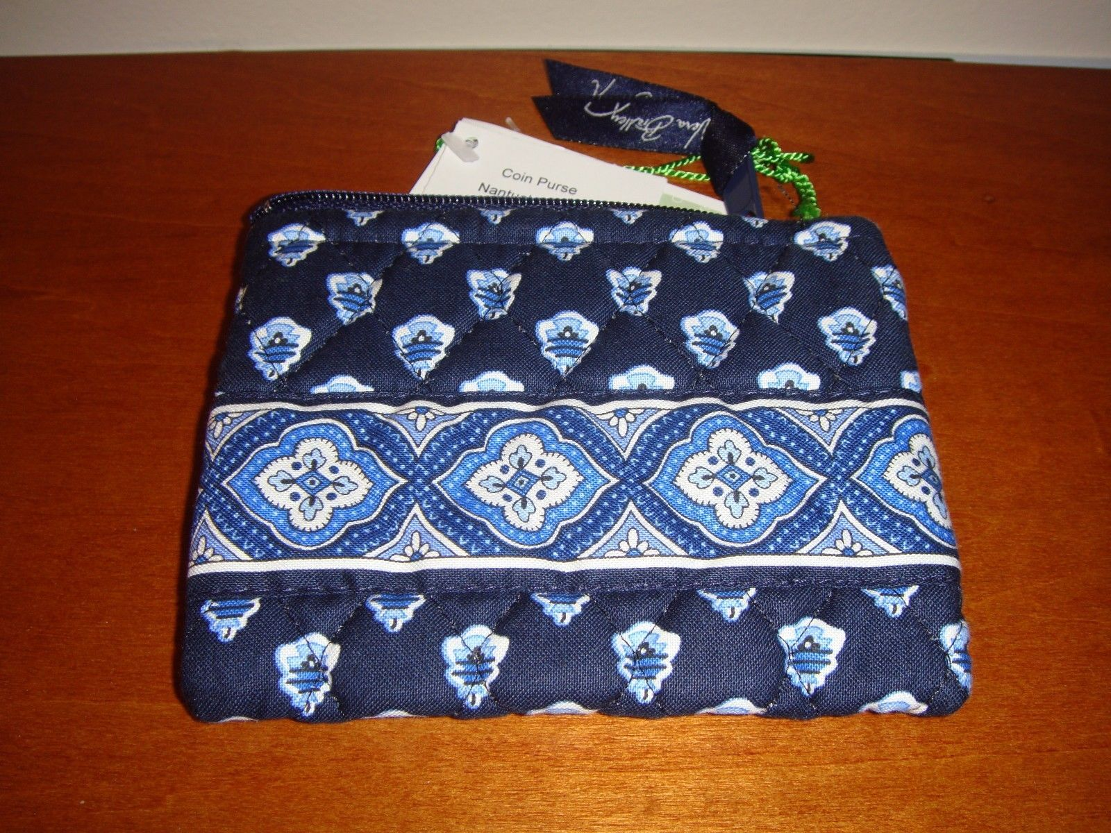 Vera Bradley Nantucket Navy Coin Purse