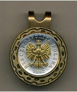 """Guernsey Penny """"Crab"""" 2-Toned Gold on Silver Coin Golf Marker - $64.00"""